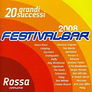 FESTIVALBAR ROSSA 2008 (CD)