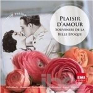 PLAISIR D'AMOUR. SOUVENIR DE LA BELLE EPOQUE (CD)