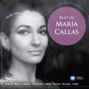 MARIA CALLAS - BEST OF MARIA CALLAS (CD)