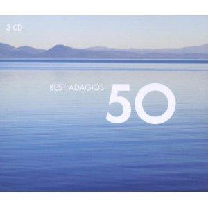 50 BEST ADAGIOS -3CD (CD)