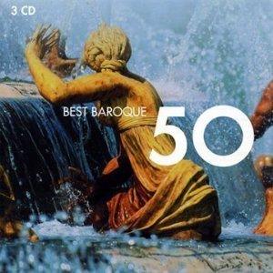 50 BEST BAROQUE -3CD (CD)