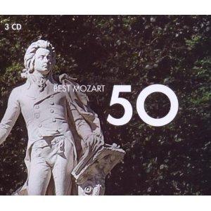 50 BEST MOZART -3CD (CD)