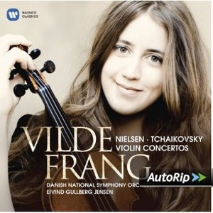 CONCERTI PER VIOLINO BY VILDE FRANG (CD)