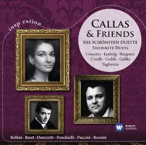 CALLAS & FRIENDS: GREAT DUETS (CD)