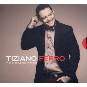 TIZIANO FERRO - THE ALBUM COLLECTION -4CD (CD)
