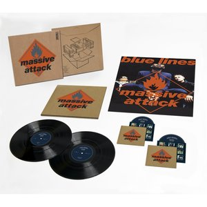 MASSIVE ATTACK - BLUE LINES -2CD+2LP (LP)