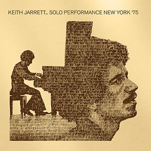 KEITH JARRETT - SOLO PERFORMANCE NEW YORK '75 (CD)