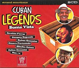 CUBAN LEGENDS/BUENA VISTA -2CD (CD)