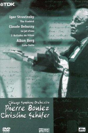 CHICAGO S.O. - PIERRE BOULEZ CHISTINE SCHAFER (DVD)