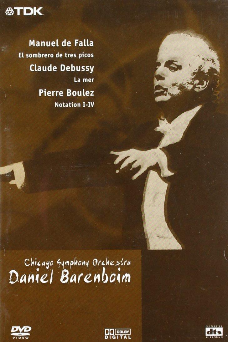 CHICAGO S.O. - DANIEL BARENBOIM (DVD)
