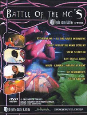 BATTLE OF THE MC'S (DVD)