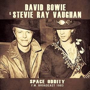 DAVID BOWIE & STEVIE RAY VAUGHAN - SPACE ODDITY (LP)