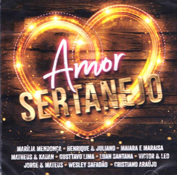 AMOR SERTANEJO (CD)