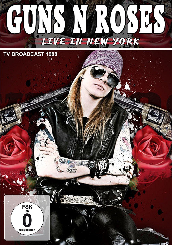 GUNS N' ROSES - LIVE IN NEW YORK 1988 (DVD)