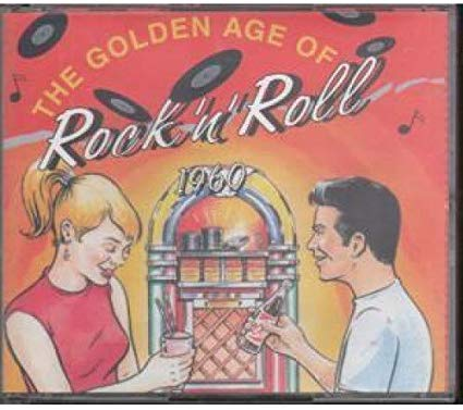 THE GOLDEN AGE OF ROCK 'N' ROLL 1960 (3 CD'S) (CD)