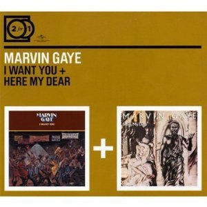 MARVIN GAYE - I WANT YOU - HERE MY DEAR -2CD (CD)