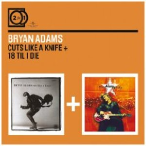 BRYAN ADAMS - 18 TIL I DIE - CUTS LIKE A KNIFE -2CD (CD)