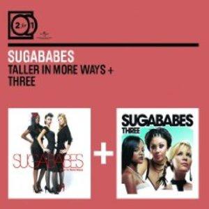 SUGABABES - TALLER IN MORE WAYS - THREE -2CD (CD)
