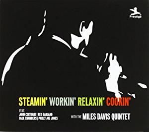 MILES DAVIS - STEAMIN' WORKIN' RELAXIN' -4CD (CD)