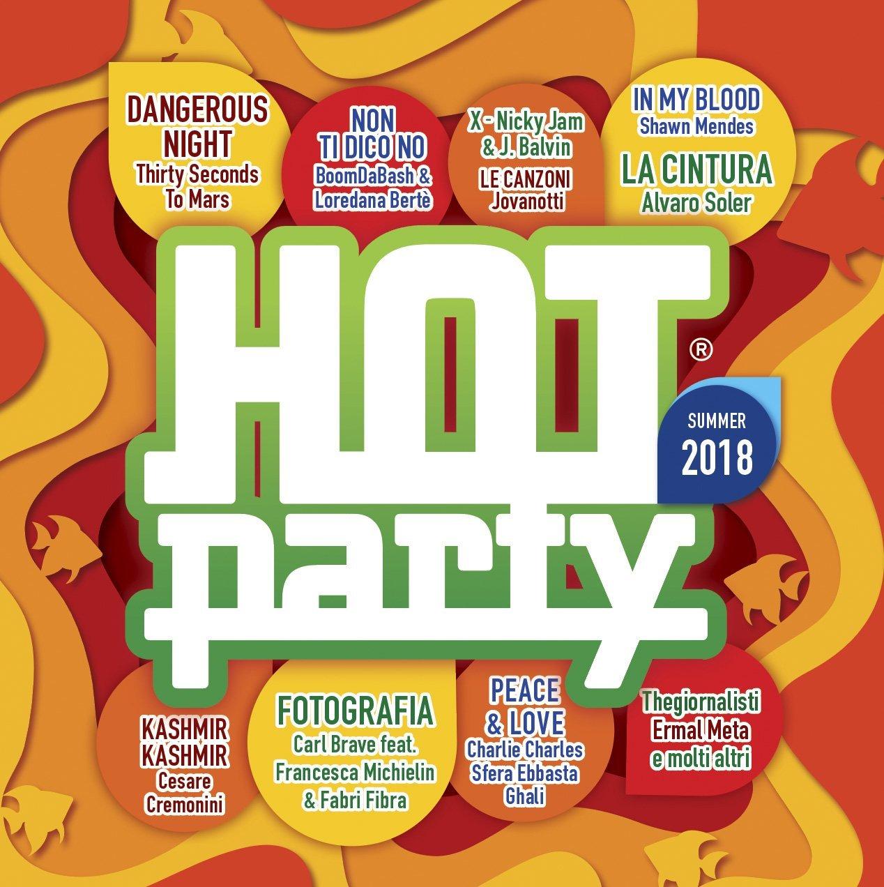 HOT PARTY SUMMER 2018 (2 CD) (CD)