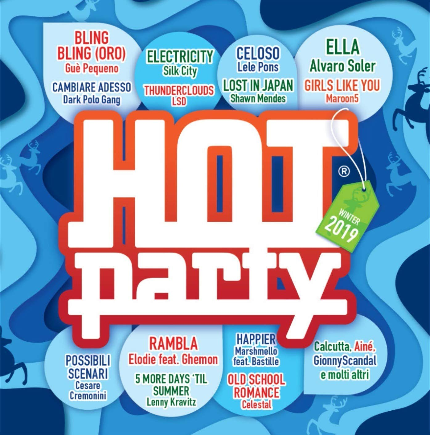HOT PARTY WINTER 2019 (CD)