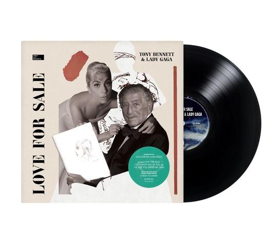 TONY BENNETT & LADY GAGA - LOVE FOR SALE (LP)