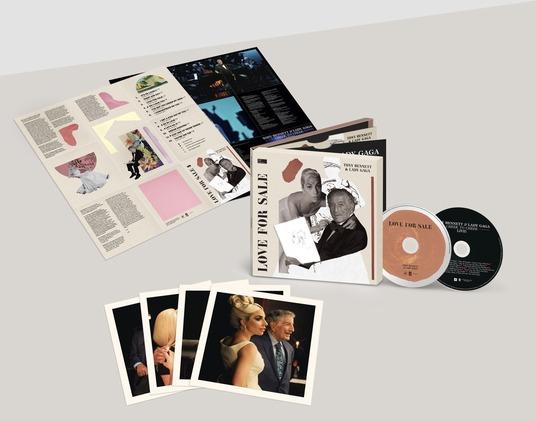 TONY BENNETT & LADY GAGA - LOVE FOR SALE 2CD (CD)