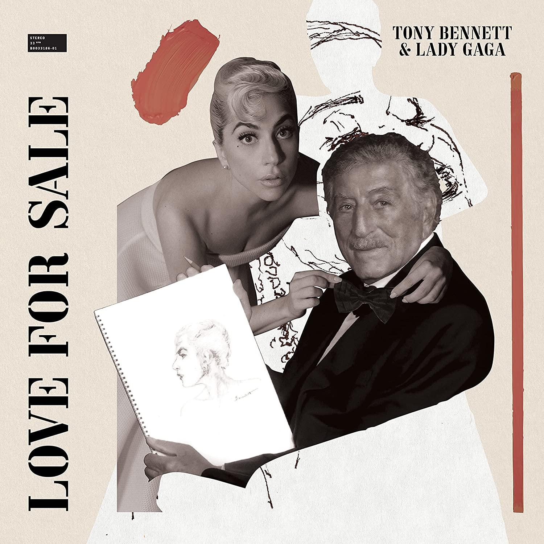 TONY BENNETT & LADY GAGA - LOVE FOR SALE (CD)