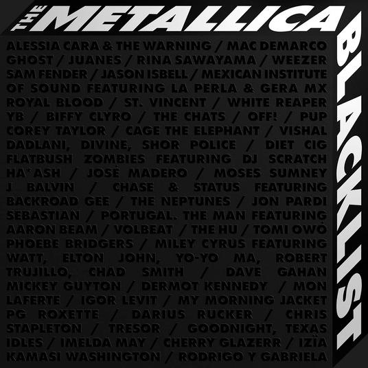 METALLICA - THE METALLICA BLACKLIST - 4 CD BOXSET (CD)