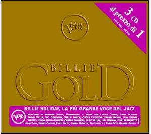 BILLIE HOLIDAY - BILLIE GOLD 3CD (CD)