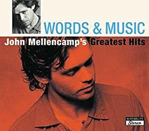 JOHN COUGAR MELLENCAMP - WORDS & MUSIC -2CD (CD)
