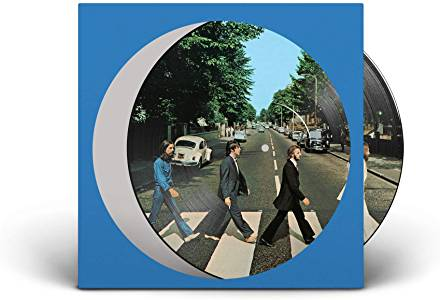 BEATLES - ABBEY ROAD - ANNIVERSARY EDITION LP PICTURE DISC IN V