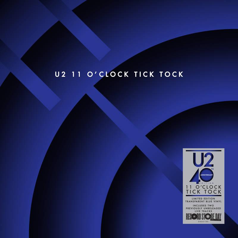 U2 - 11 O'CLOCK TICK TOCK - 40TH ANNIVERSARY EDITION (TRANSPAREN