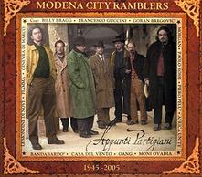 MODENA CITY RAMBLERS - APPUNTI PARTIGIANI (CD)