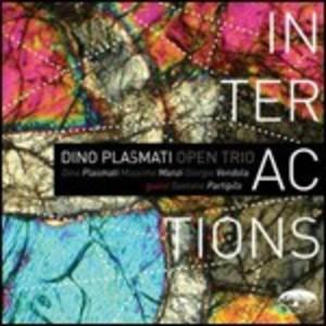 DINO PLASMATI - INTERACTIONS (GUITARS) (CD)