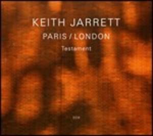 KEITH JARRETT - TESTAMENT. PARIS-LONDON -3CD (CD)