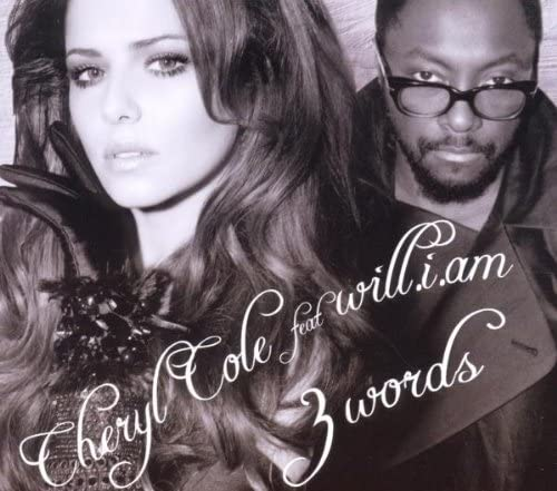 CHERYL COLE - 3 WORDS FT WILL.I.AM (CD)