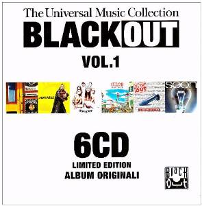 BLACK OUT VOL.1. THE UNIVERSAL MUSIC COLLECTION -6CD (CD)