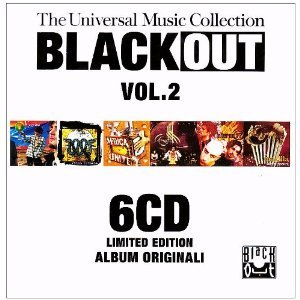 BLACK OUT VOL.2. THE UNIVERSAL MUSIC COLLECTION -6CD (CD)