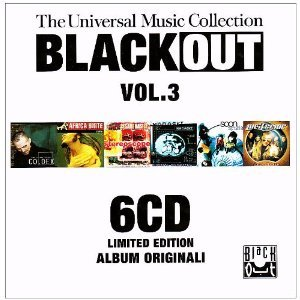 BLACK OUT VOL.3. THE UNIVERSAL MUSIC COLLECTION -6CD (CD)