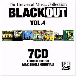 BLACK OUT VOL.4. THE UNIVERSAL MUSIC COLLECTION -7CD (CD)