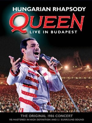 QUEEN - HUNGARIAN RHAPSODY LIVE IN BUDAPEST (DVD)
