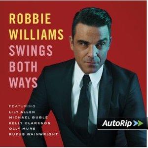 ROBBIE WILLIAMS - SWINGS BOTH WAYS -CD+DVD (CD)