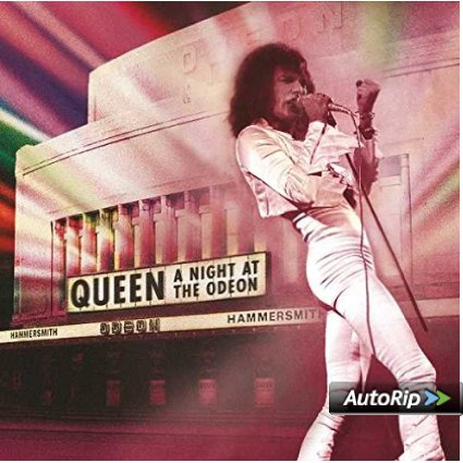 QUEEN - A NIGHT AT THE ODEON -LIM.ED. (LP)