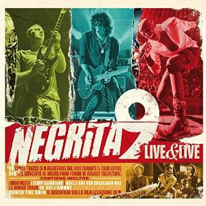 NEGRITA - 9 LIVE & LIVE -(CD+DVD) (CD)
