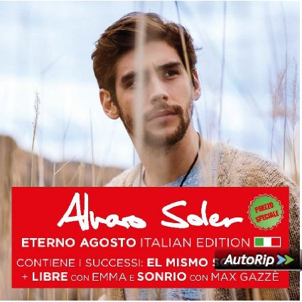 ALVARO SOLER - ETERNO AGOSTO (ITALIAN EDT.) (CD)