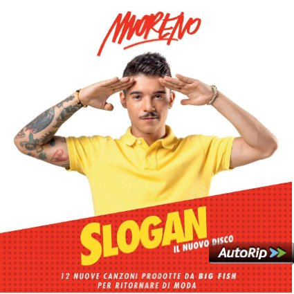 MORENO - SLOGAN (CD)
