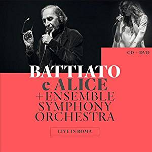 ALICE FRANCO BATTIATO - LIVE IN ROMA -CD+DVD (CD)