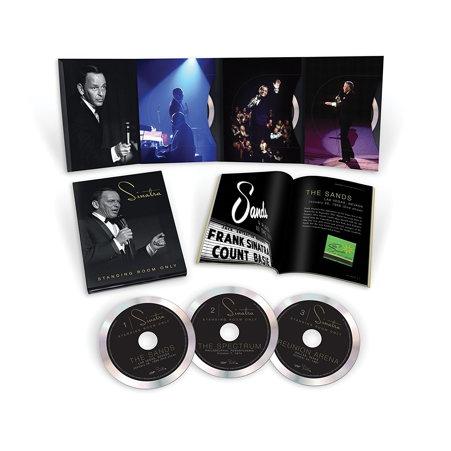 FRANK SINATRA - STANDING ROOM ONLY (3 CD) (CD)