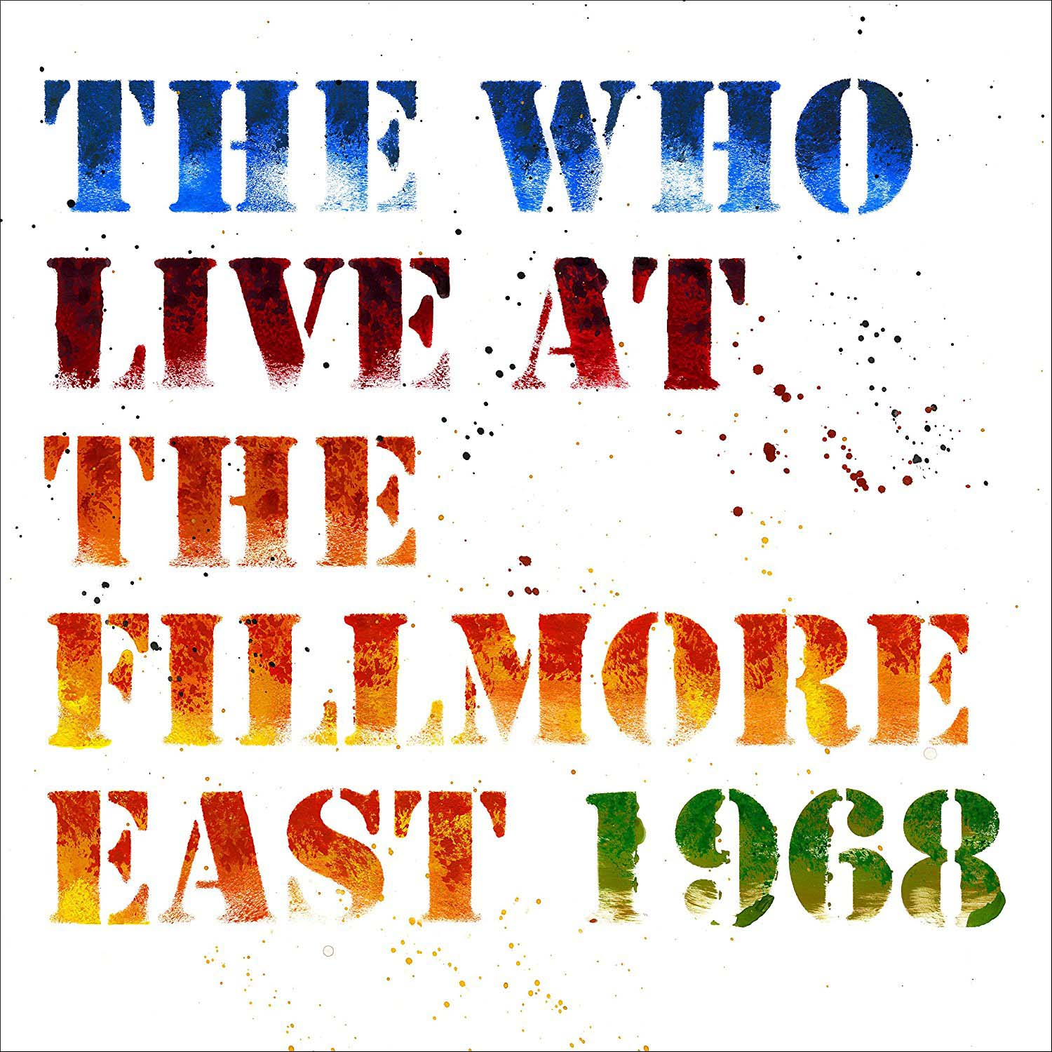 WHO - LIVE AT THE FILLMORE EAST 1968 (CD)